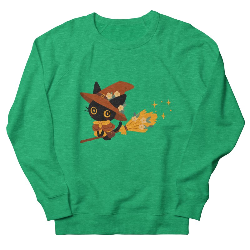 Cat Witch Women's Sweatshirt by StrangelyKatie's Store