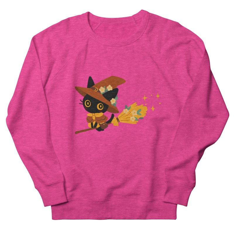 Cat Witch Women's French Terry Sweatshirt by StrangelyKatie's Store