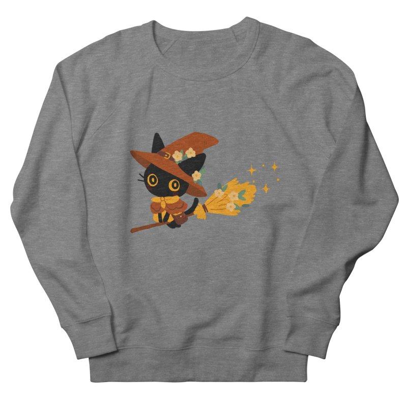 Cat Witch Men's Sweatshirt by StrangelyKatie's Store