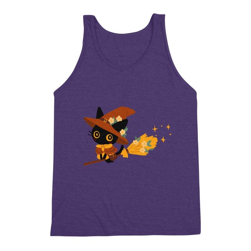 Cat Witch Men's Tank by StrangelyKatie's Store