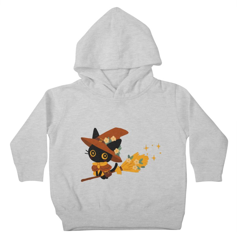 Cat Witch Kids Toddler Pullover Hoody by StrangelyKatie's Store