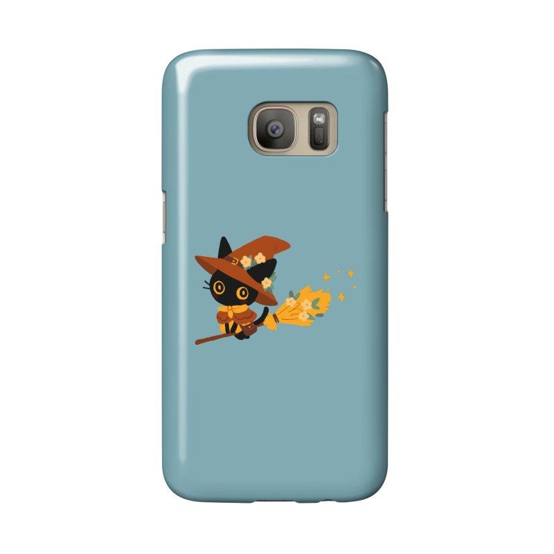 Cat Witch Accessories Phone Case by StrangelyKatie's Store