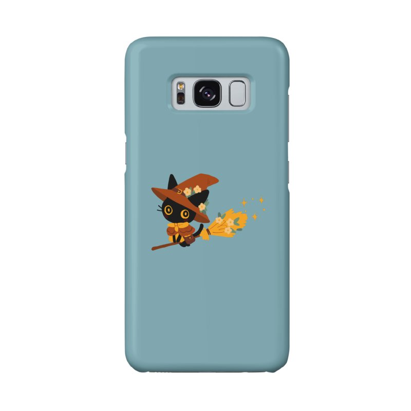 Cat Witch Accessories Phone Case by StrangelyKatie's Store