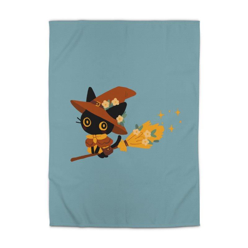 Cat Witch Home Rug by StrangelyKatie's Store