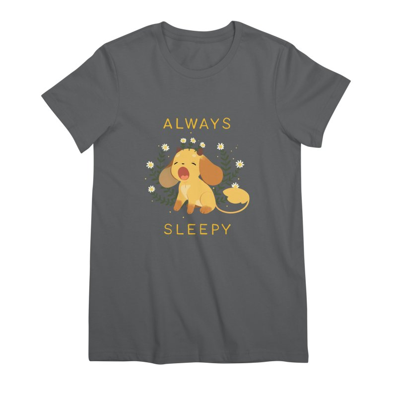 Always Sleepy Women's Premium T-Shirt by StrangelyKatie's Store