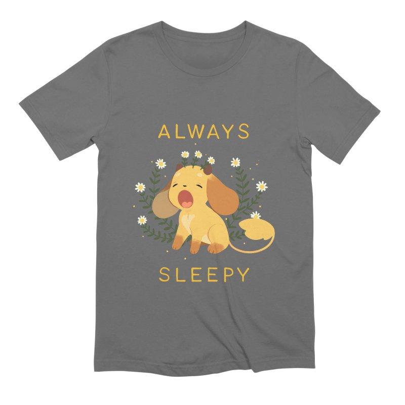 Always Sleepy Men's T-Shirt by StrangelyKatie's Store