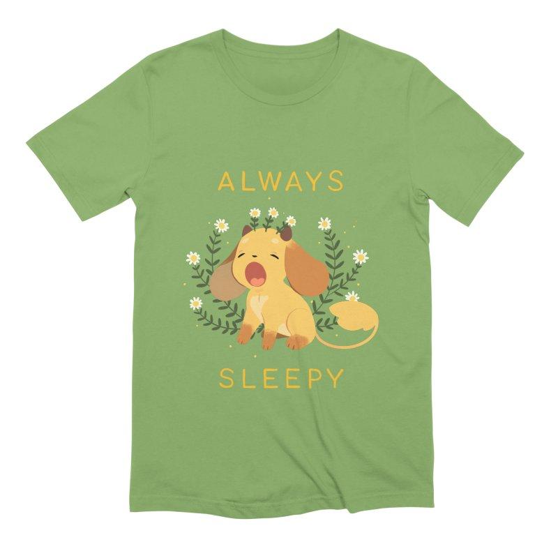 Always Sleepy Men's Extra Soft T-Shirt by StrangelyKatie's Store