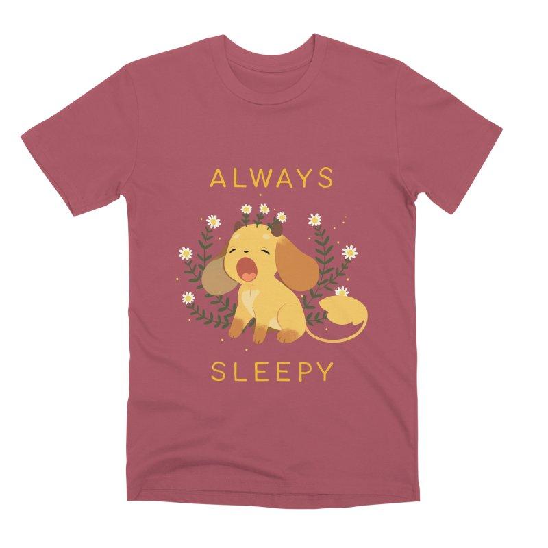 Always Sleepy Men's Premium T-Shirt by StrangelyKatie's Store