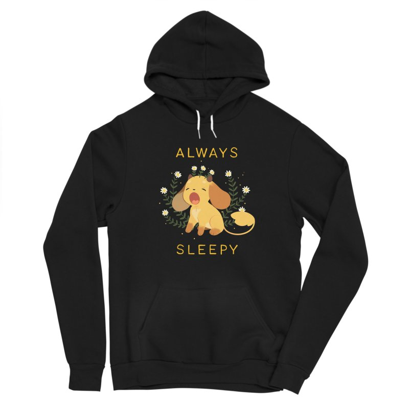 Always Sleepy Men's Sponge Fleece Pullover Hoody by StrangelyKatie's Store