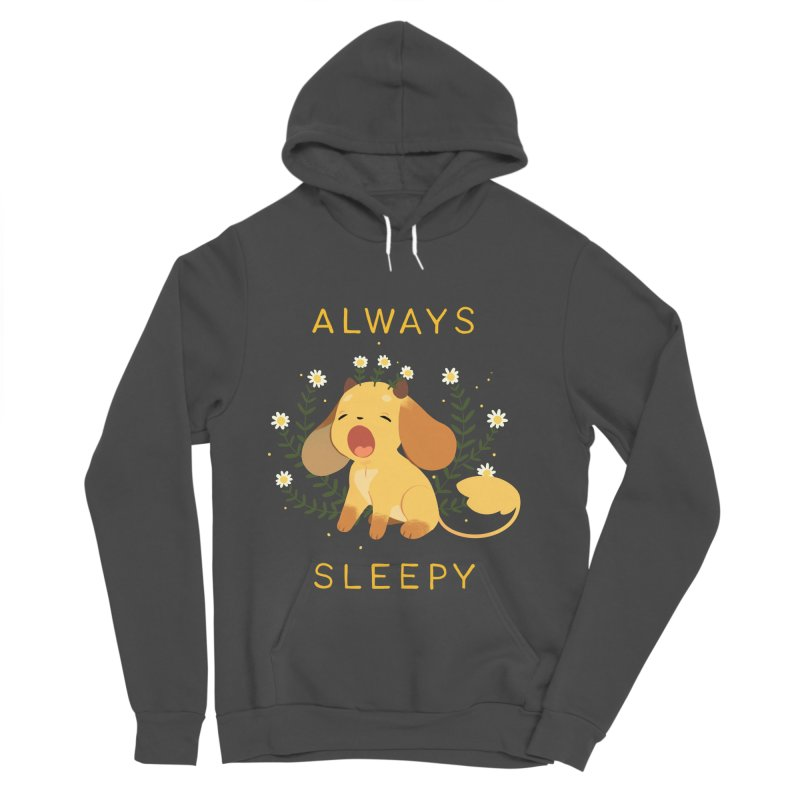 Always Sleepy Women's Sponge Fleece Pullover Hoody by StrangelyKatie's Store