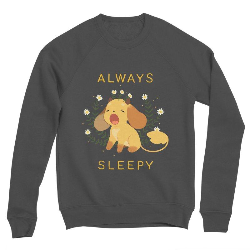 Always Sleepy Women's Sponge Fleece Sweatshirt by StrangelyKatie's Store