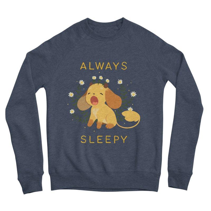 Always Sleepy Men's Sponge Fleece Sweatshirt by StrangelyKatie's Store