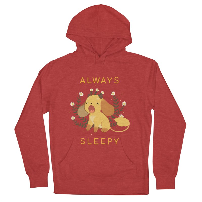 Always Sleepy Men's French Terry Pullover Hoody by StrangelyKatie's Store