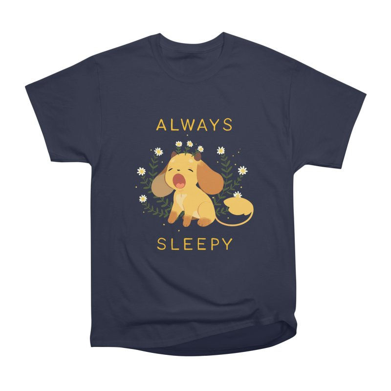 Always Sleepy Men's Heavyweight T-Shirt by StrangelyKatie's Store