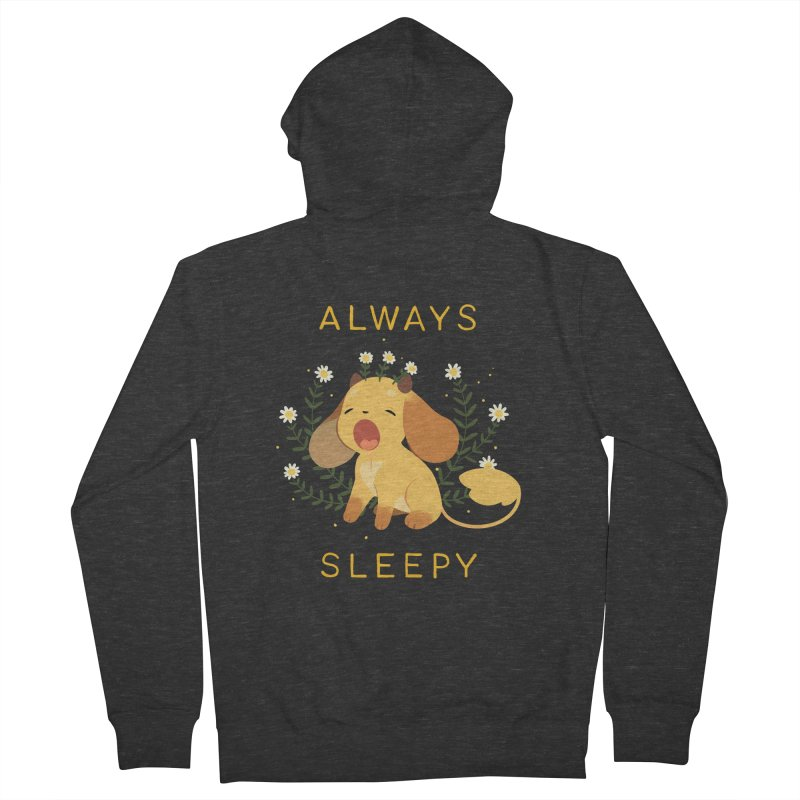 Always Sleepy Women's Zip-Up Hoody by StrangelyKatie's Store
