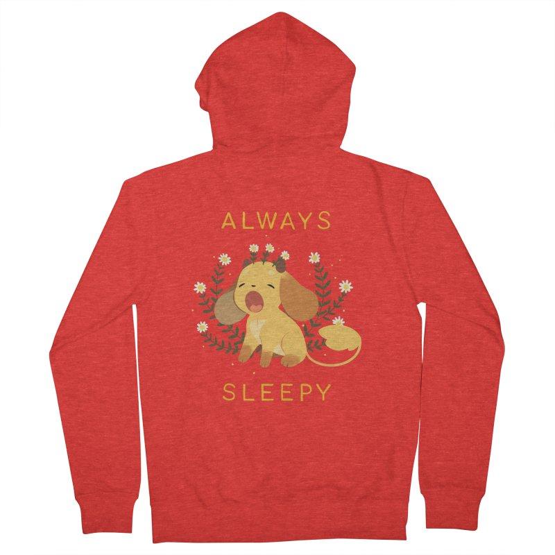 Always Sleepy Women's Zip-Up Hoody by StrangelyKatie's Store
