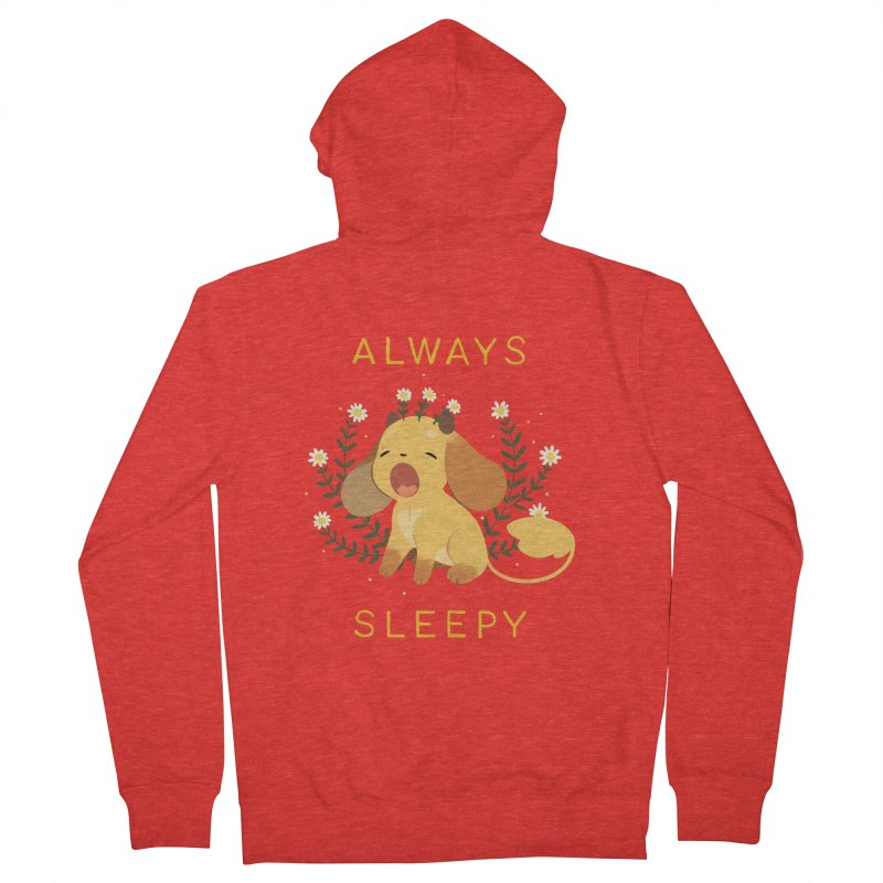 Always Sleepy Men's Zip-Up Hoody by StrangelyKatie's Store