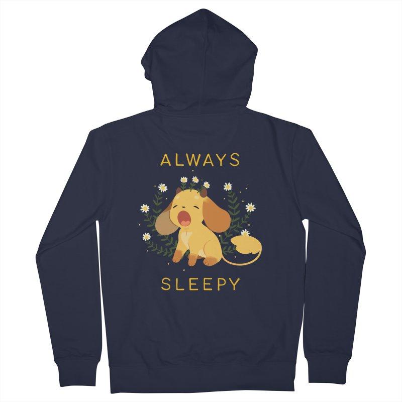 Always Sleepy Men's Zip-Up Hoody by StrangelyKatie's Store