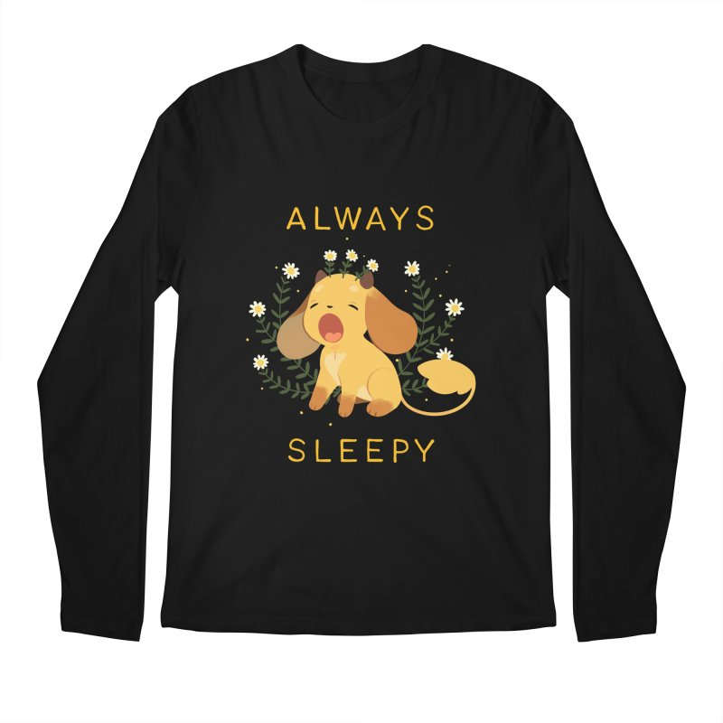 Always Sleepy Men's Regular Longsleeve T-Shirt by StrangelyKatie's Store