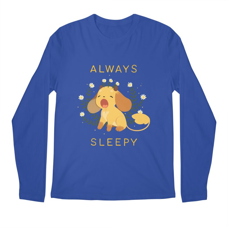 Always Sleepy Men's Longsleeve T-Shirt by StrangelyKatie's Store