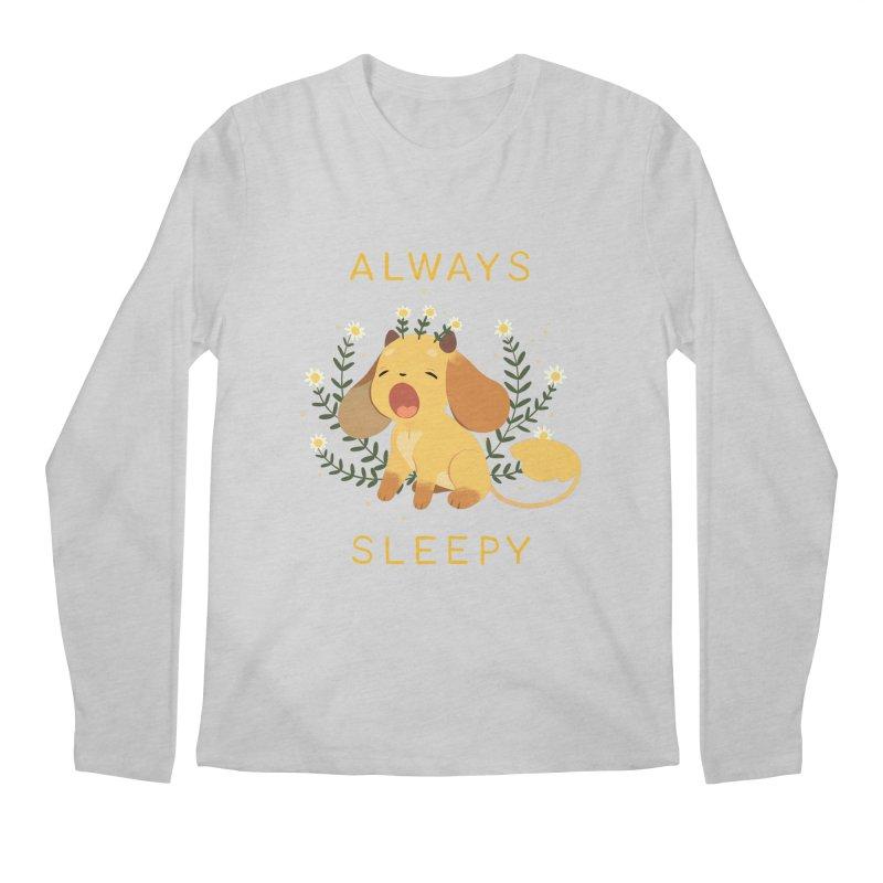 Always Sleepy Men's Longsleeve T-Shirt by StrangelyKatie's Store