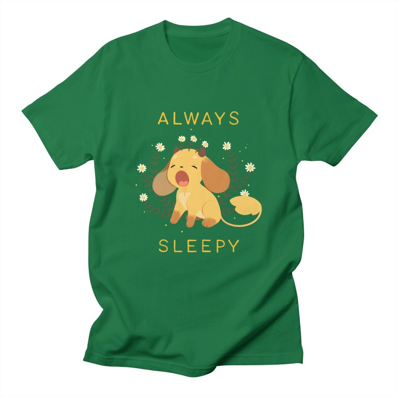 Always Sleepy Men's Regular T-Shirt by StrangelyKatie's Store