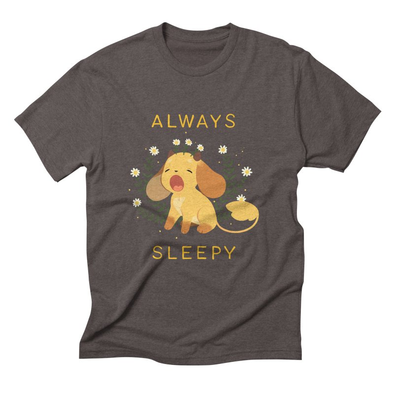 Always Sleepy Men's Triblend T-Shirt by StrangelyKatie's Store