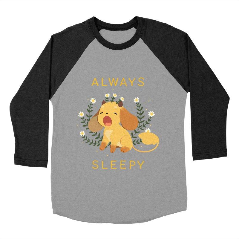 Always Sleepy Women's Baseball Triblend Longsleeve T-Shirt by StrangelyKatie's Store