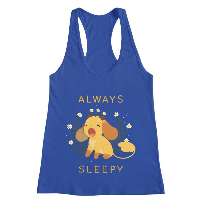 Always Sleepy Women's Racerback Tank by StrangelyKatie's Store