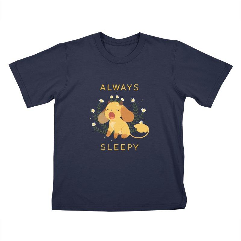Always Sleepy Kids T-Shirt by StrangelyKatie's Store