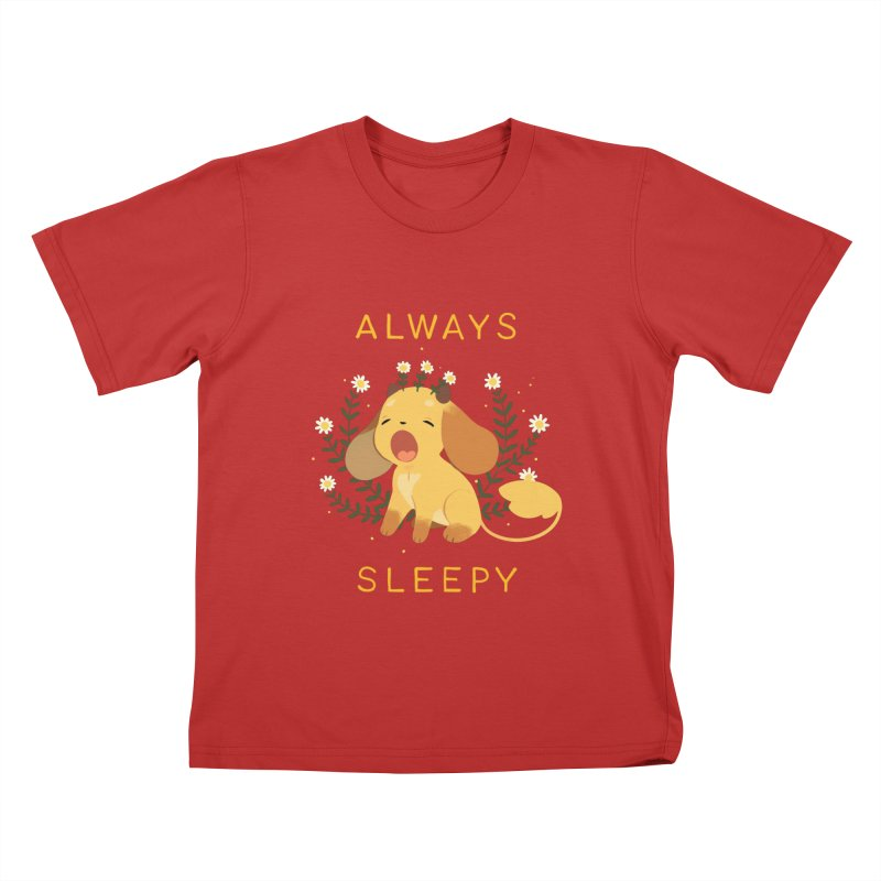 Always Sleepy Kids T-Shirt by StrangelyKatie's Store