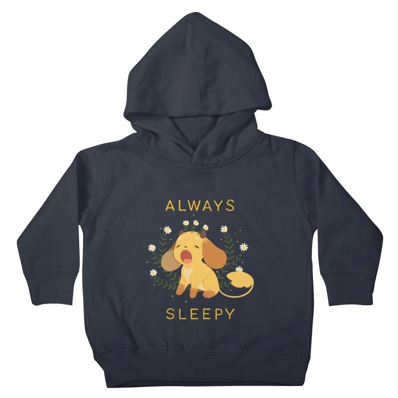 Always Sleepy Kids Toddler Pullover Hoody by StrangelyKatie's Store