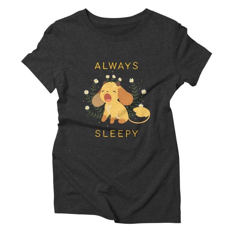 Always Sleepy Women's Triblend T-Shirt by StrangelyKatie's Store