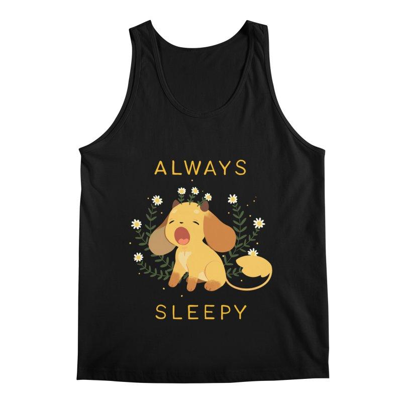 Always Sleepy Men's Regular Tank by StrangelyKatie's Store