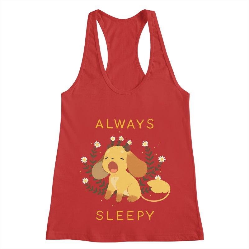 Always Sleepy Women's Tank by StrangelyKatie's Store