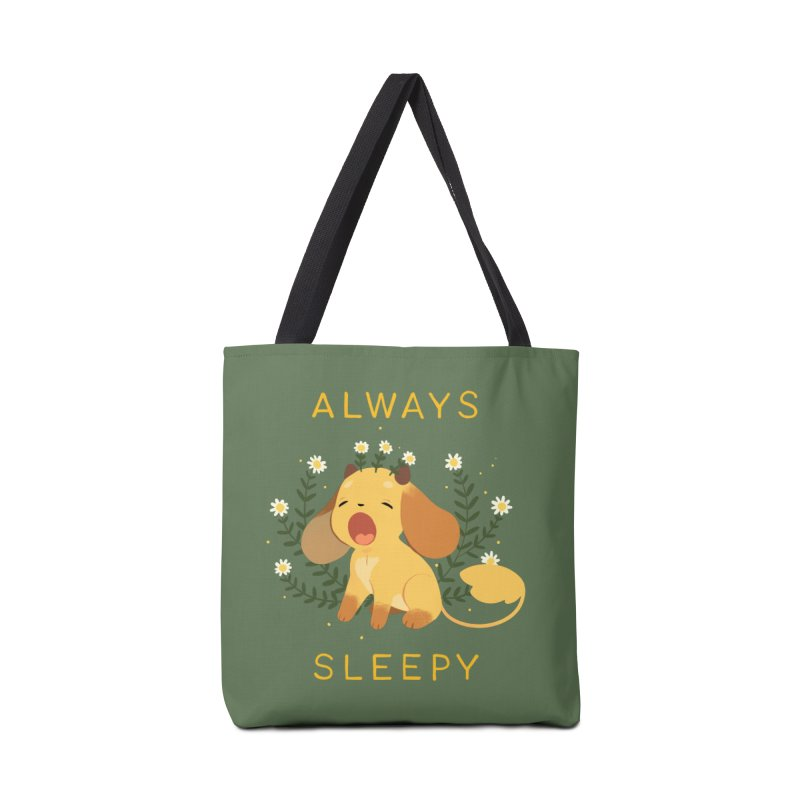Always Sleepy Accessories Tote Bag Bag by StrangelyKatie's Store