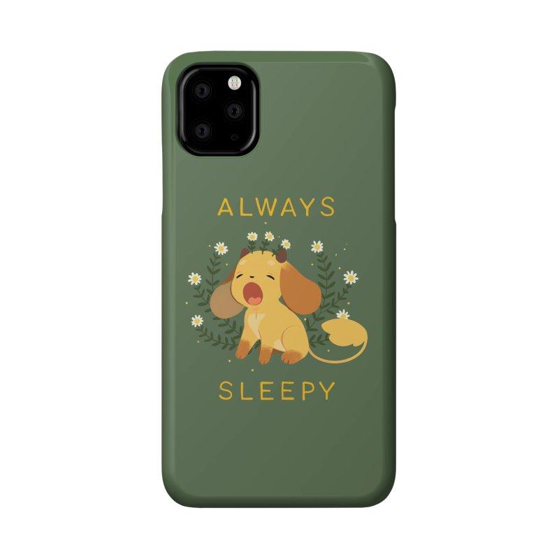 Always Sleepy Accessories Phone Case by StrangelyKatie's Store