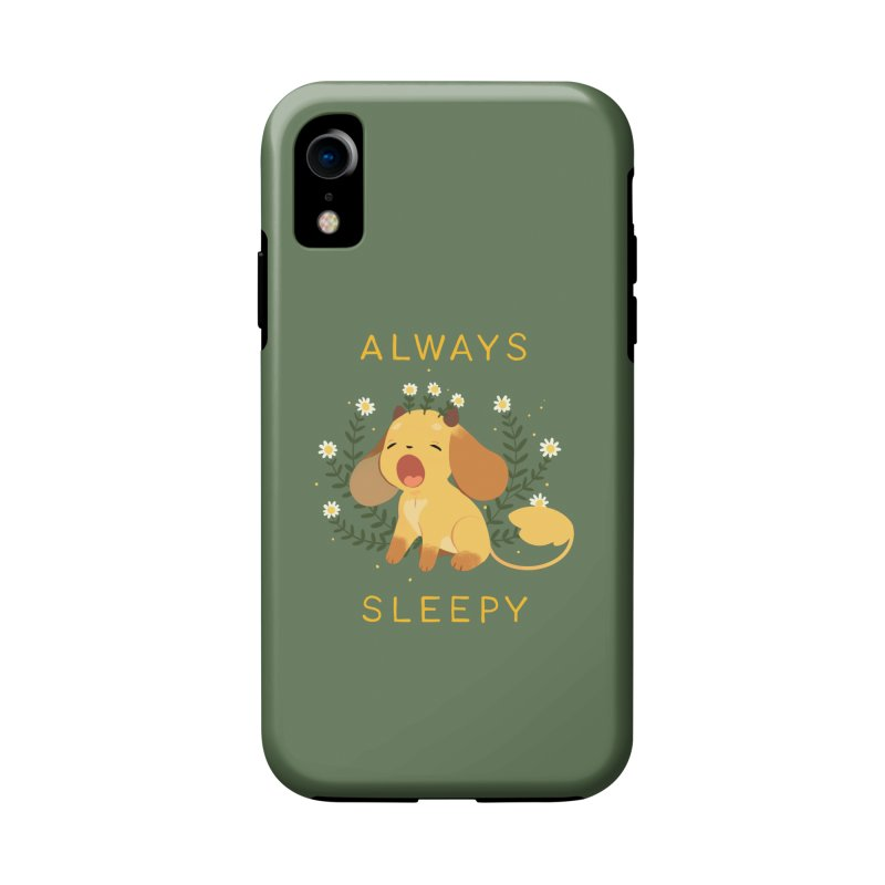 Always Sleepy Accessories Phone Case by StrangelyKatie's Store