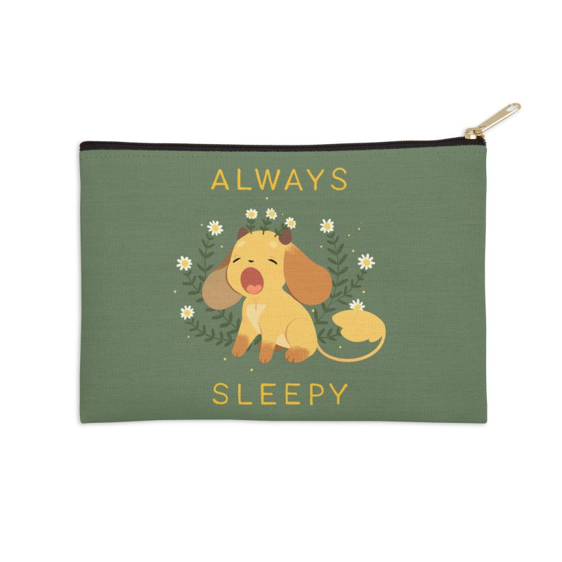 Always Sleepy Accessories Zip Pouch by StrangelyKatie's Store