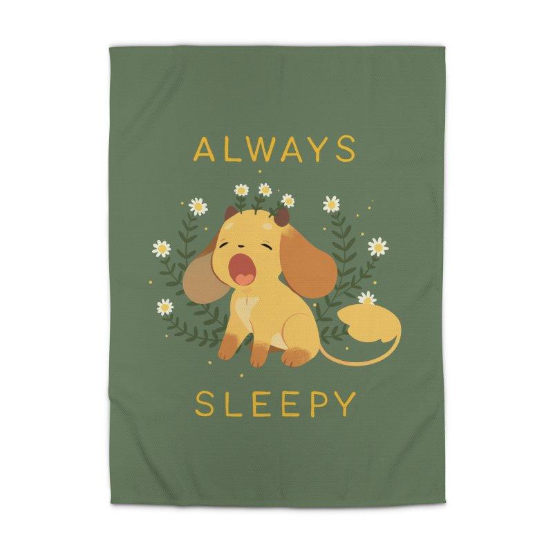 Always Sleepy Home Rug by StrangelyKatie's Store