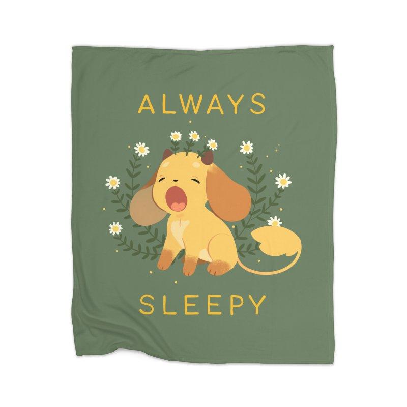Always Sleepy Home Blanket by StrangelyKatie's Store
