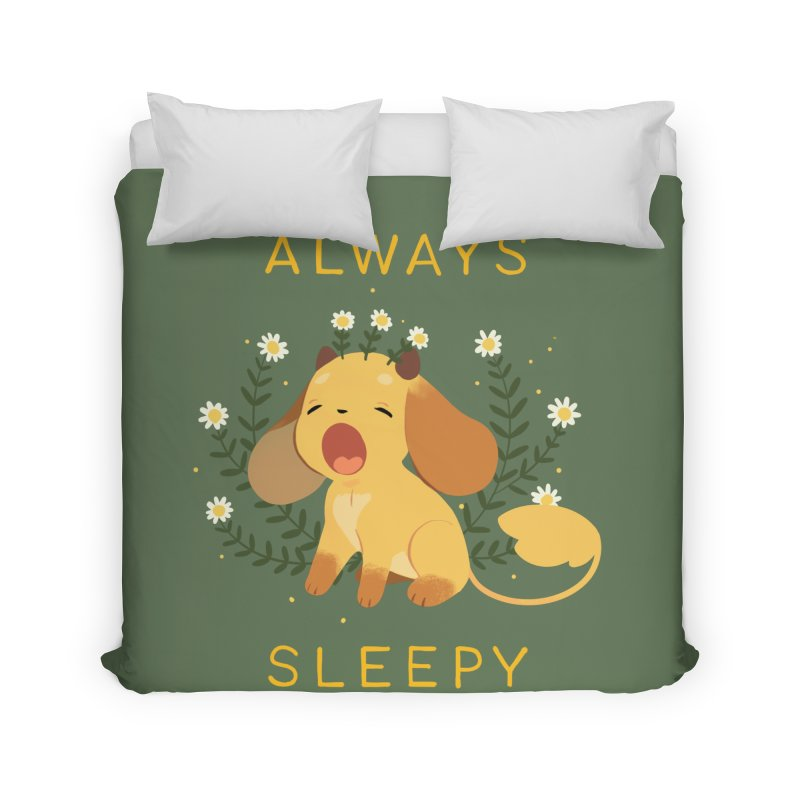 Always Sleepy Home Duvet by StrangelyKatie's Store