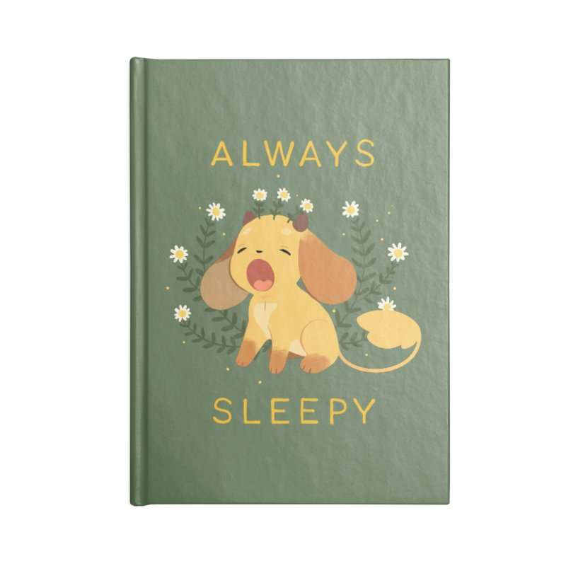 Always Sleepy Accessories Blank Journal Notebook by StrangelyKatie's Store