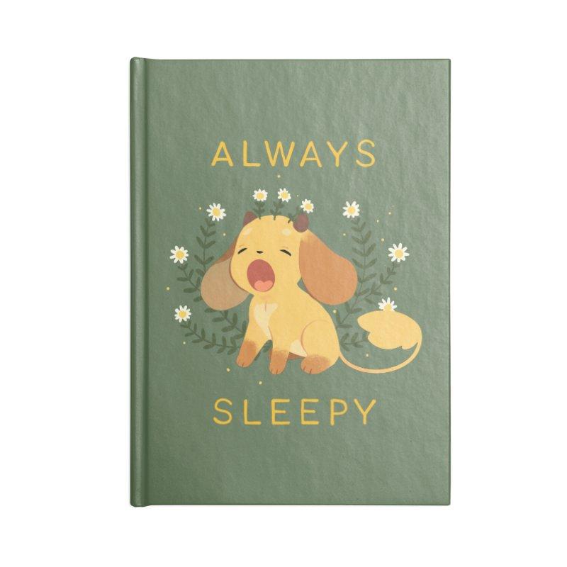 Always Sleepy Accessories Lined Journal Notebook by StrangelyKatie's Store
