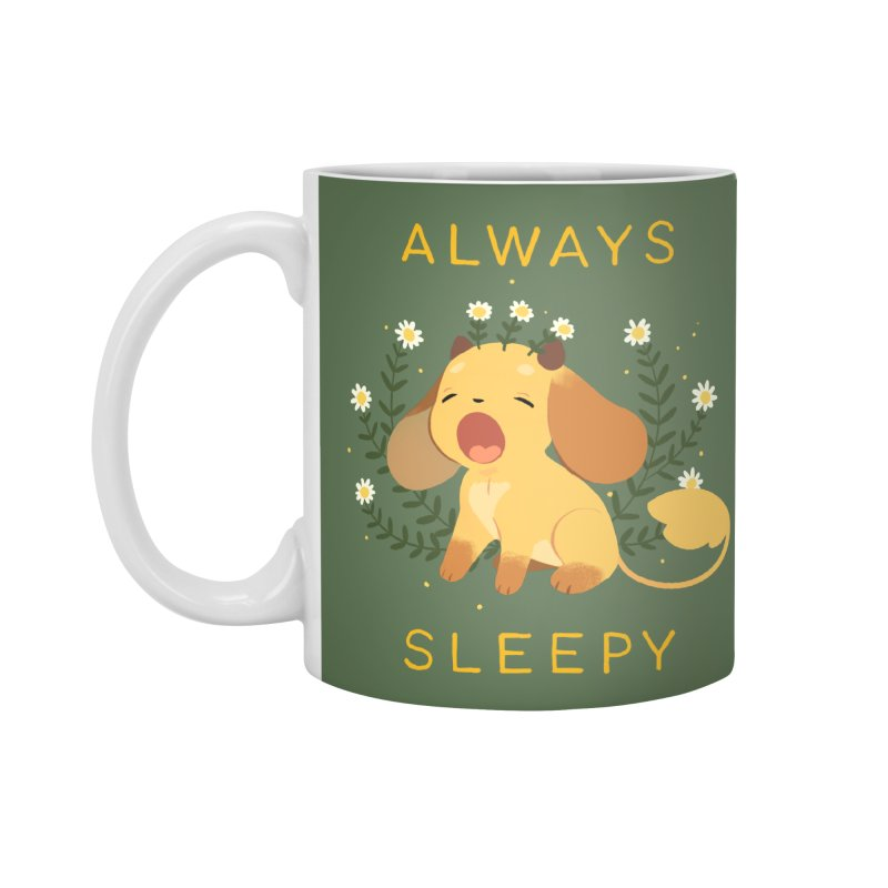 Always Sleepy Accessories Standard Mug by StrangelyKatie's Store
