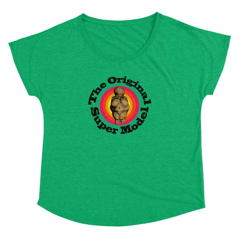 The Original Super Model Women's Dolman by Strange Menagerie