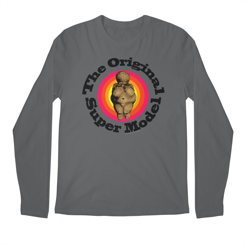 The Original Super Model! Men's Regular Longsleeve T-Shirt by Strange Menagerie
