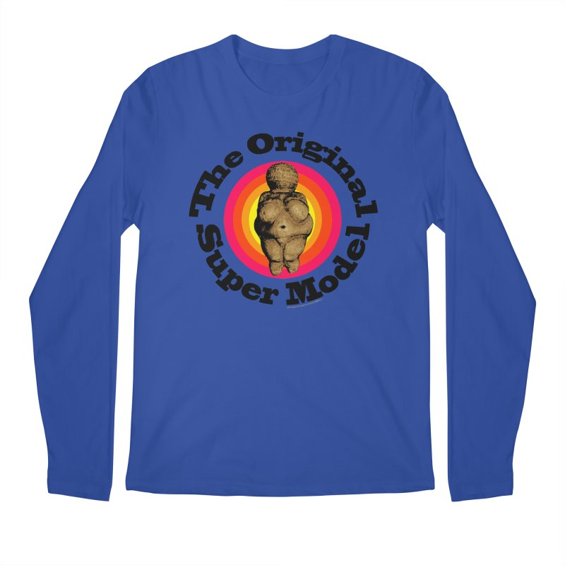 The Original Super Model! Men's Longsleeve T-Shirt by Strange Menagerie