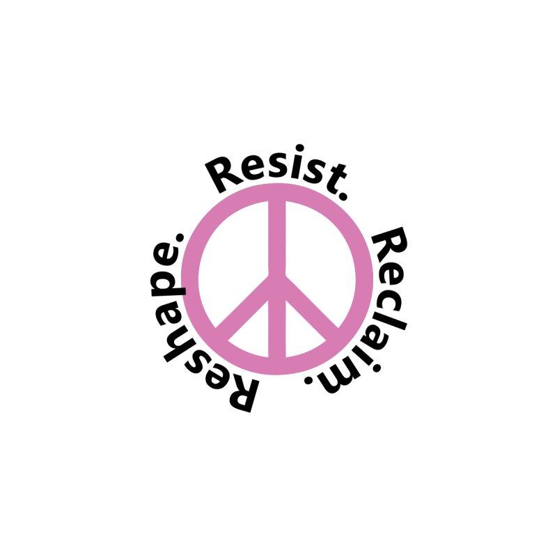 Resist. Reclaim. Reshape Women's Tank by Strange Menagerie