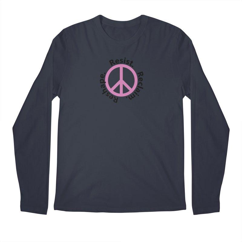Resist. Reclaim. Reshape Men's Regular Longsleeve T-Shirt by Strange Menagerie